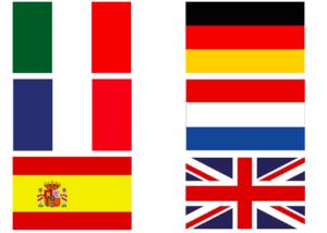 alle vlaggen samen